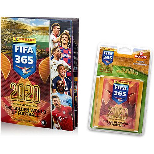 Блистер с наклейками Panini FIFA 365 - 2020, 6 пакетиков от Panini