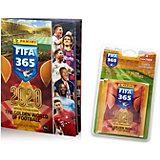 Альбом Panini  FIFA 365 - 2020 и блистер с наклейками, 60 пакетиков в блистере
