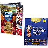 Альбом Panini  FIFA 365-2020 и Альбом Panini Чемпионат Мира по Футболу FIFA 2018