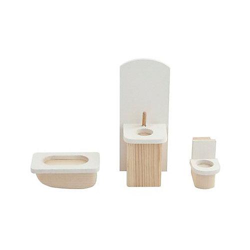 "Набор мебели для мини-кукол Paremo ""Ванная комната"" от PAREMO"