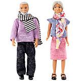 Набор кукол для домика Lundby Бабушка с дедушкой
