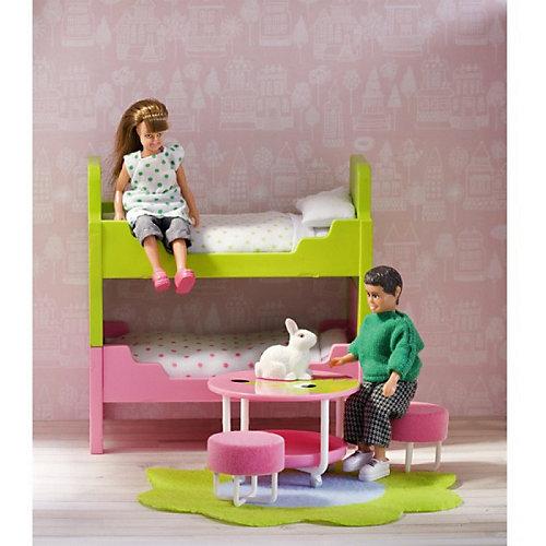 """Мебель для домика Lundby Смоланд """"Детская с 2 кроватями"""" от Lundby"""