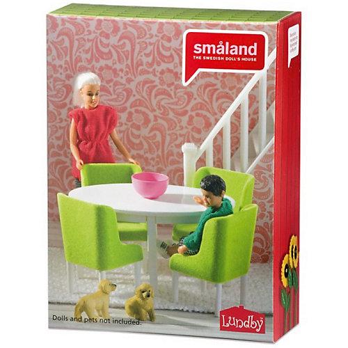 """Кукольная мебель Lundby Смоланд """"Обеденная группа"""" от Lundby"""
