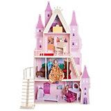 """Кукольный дворец Paremo """"Розовый сапфир"""", 16 предметов мебели и текстиля"""