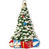 Елочное украшение Новогодняя сказка Новогодняя елочка, 12,5 см