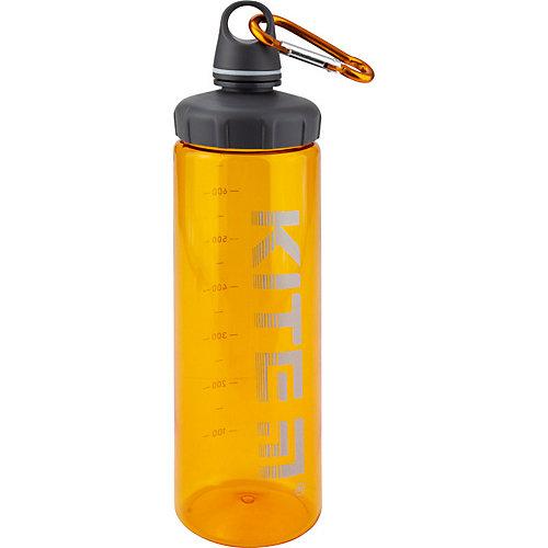 Бутылочка для воды Kite, 750 мл, оранжевая от Kite