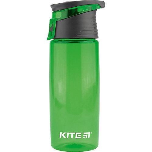 Бутылочка для воды Kite, 550 мл, зеленая от Kite