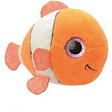 Мягкая игрушка Orbys Рыбка-клоун, 15 см