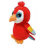 Мягкая игрушка Orbys Попугай, 15 см