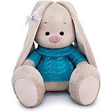 Мягкая игрушка Budi Basa Зайка Ми в голубом свитере, 18 см