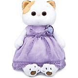 Одежда для мягкой игрушки Budi Basa Лавандовое платье с цветком, 24 см