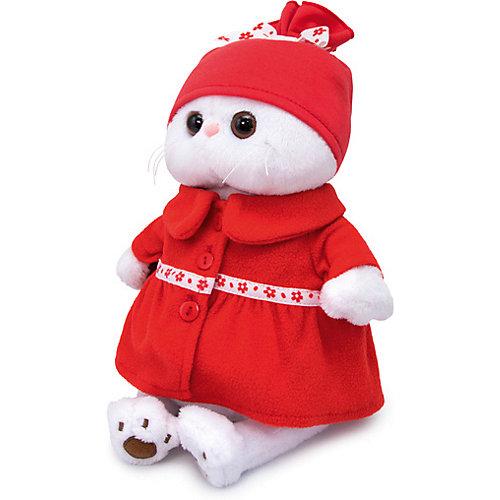 Мягкая игрушка Budi Basa Кошечка Ли-Ли в красном пальто, 27 см от Budi Basa