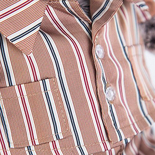 Одежда для мягкой игрушки Budi Basa Пижама шелковая в полоску, 22 см от Budi Basa