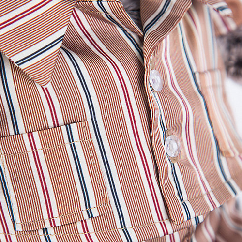 Одежда для мягкой игрушки Budi Basa Пижама шелковая в полоску, 25 см от Budi Basa