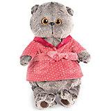 Одежда для мягкой игрушки Budi Basa Темно-розовый халат, 22 см
