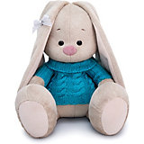Мягкая игрушка Budi Basa Зайка Ми в голубом свитере, 23 см