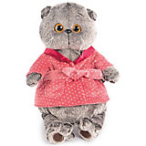 Одежда для мягкой игрушки Budi Basa Темно-розовый халат, 30 см