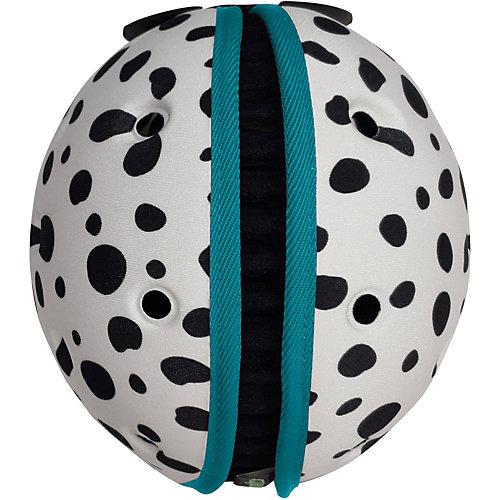 Мягкая шапка-шлем для защиты головы Safehead Baby Далматин, бело-синий