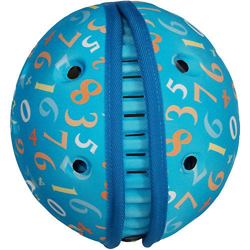 Мягкая шапка-шлем для защиты головы Safehead Baby Числа, синий