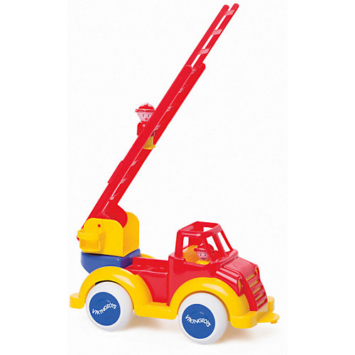 Игровой набор Viking Toys Пожарная машина SUPER JUMBO с фигурками от Viking Toys