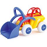 Трактор Viking Toys с ковшом midi