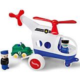 Игровой набор Viking Toys Полицейский вертолет с фигурками