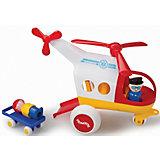Игровой набор Viking Toys Медицинский вертолет с фигурками
