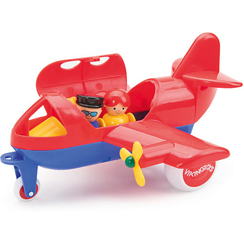 Игровой набор Viking Toys Самолет Jumbo с 2 фигурками от Viking Toys