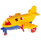 Игровой набор Viking Toys Самолет Jumbo с 2 фигурками, желтый