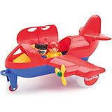 Игровой набор Viking Toys Самолет Jumbo с 2 фигурками, красный