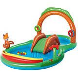 Надувной бассейн Bestway Playing Woods, 295х199х130 см