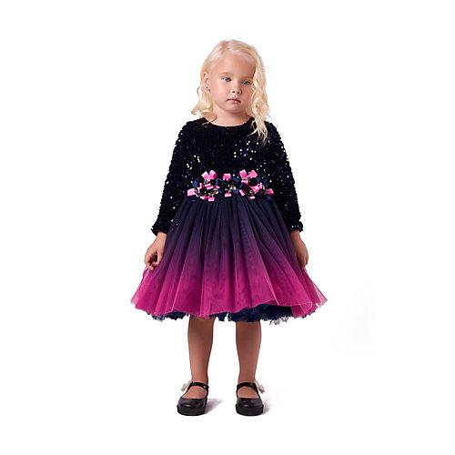 Нарядное платье Valini - темно-синий