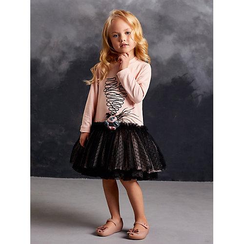 Нарядное платье Valini - розовый