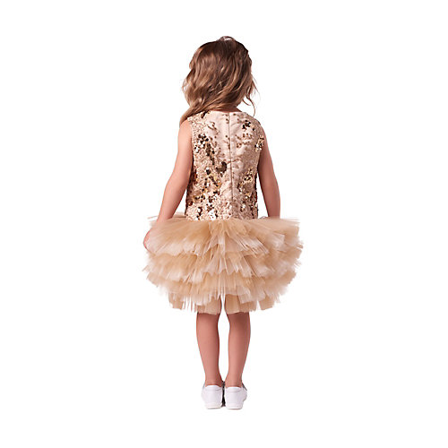 Нарядное платье Valini - желтый