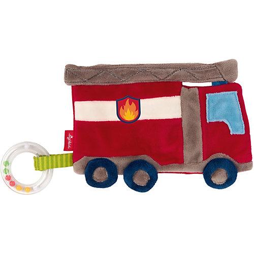 Мягкая игрушка Sigikid, шуршащий комфортер Пожарная Машина, коллекция Классик, 18 см от Sigikid