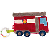 Мягкая игрушка Sigikid, шуршащий комфортер Пожарная Машина, коллекция Классик, 18 см