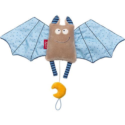 Мягкая игрушка Sigikid, музыкальная голубая Летучая Мышь, коллекция Городские Дети, 45 см от Sigikid