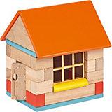 Конструктор  Wood Blocks деревянный с магнитами 2 в 1
