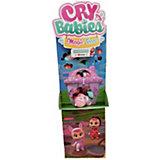 Плачущий мини-младенец IMC Toys Cry Babies Magic Tears с домиком и аксессуарами, 24 шт. в ассортименте