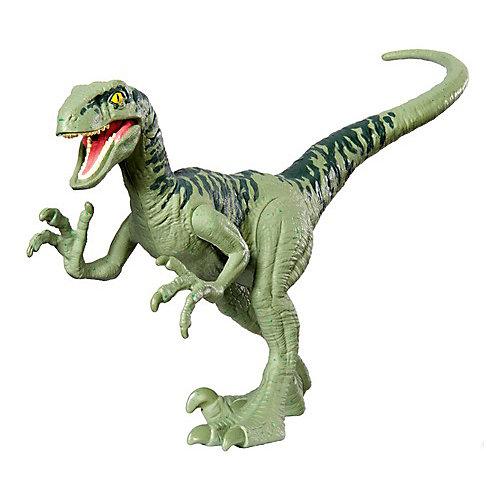 "Фигурка динозавра Jurassic World ""Атакующая стая"", Велоцираптор Чарли от Mattel"