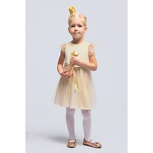 Нарядное платье Candy`s - бежевый