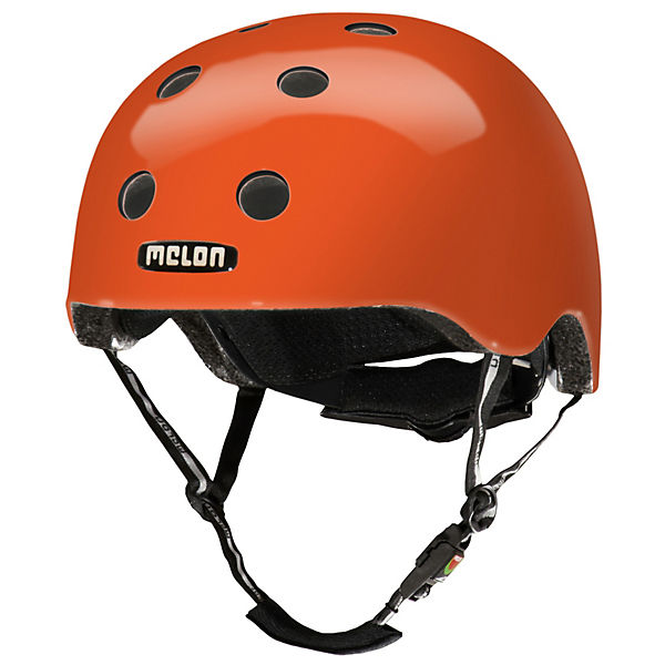Fahrradhelm Urban Active Rainbow Orange