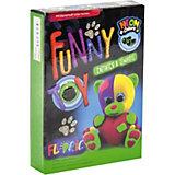 Набор для творчества Danko Toys Воздушный пластилин Neon Мишка