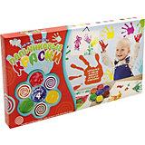 Набор для творчества Danko Toys Пальчиковые краски Моё первое творчество
