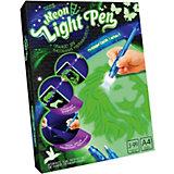 Набор для творчества Danko Toys Планшет для рисования ультрафиолетом Neon light pen, набор № 1