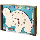 Набор для творчества Нескучные игры Часы с циферблатом под роспись Черепаха