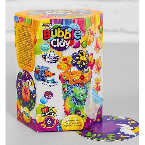 Набор для творчества Danko Toys 3 в 1 Сделай вазу. Слепи магнитик. Укрась картину, набор № 4 от Danko Toys