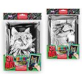 Набор для творчества Danko Toys Комплект из двух рельефных раскрасок Кот и Слон