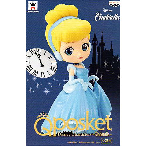 Фигурка Bandai Q Posket Disney Characters Золушка в обычной цветовой версии, BDQ6 от BANDAI