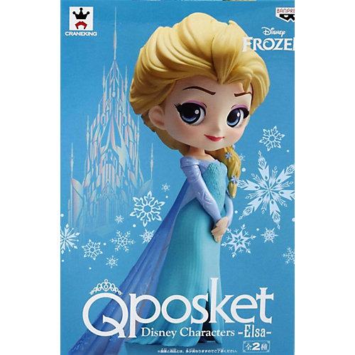 Фигурка Bandai Q Posket Disney Characters Эльза в обычной цветовой версии, BDQ3 от BANDAI